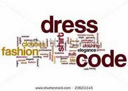 HNE Standardized Dress Code 2016