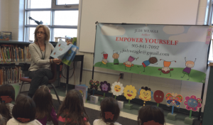 In Celebration of Catholic Education Week – Author Judy Weagle Visits Holy Name!