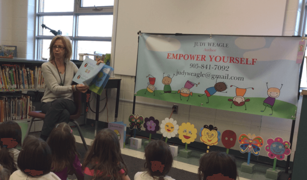 In Celebration of Catholic Education Week – Author Judy Weagle Visits Holy Name!