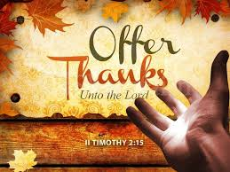 Thanksgiving Mass Celebrated October 17, Please join us!
