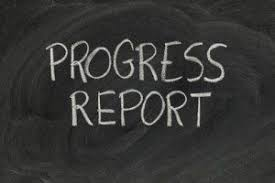 Progress Reports, Virtual Interviews and Google Meets