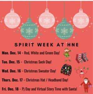 SPIRIT WEEK at HNE